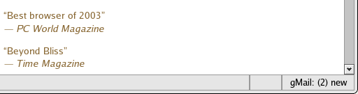 doron's blaahg: Mozilla/Gmail integration